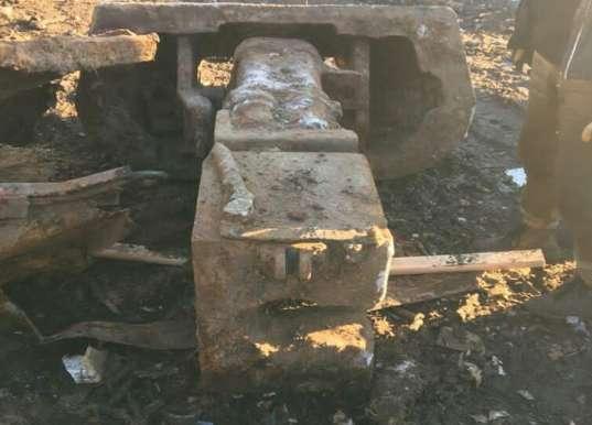 неизвестные сдали в металлолом легендарный танк Т-34